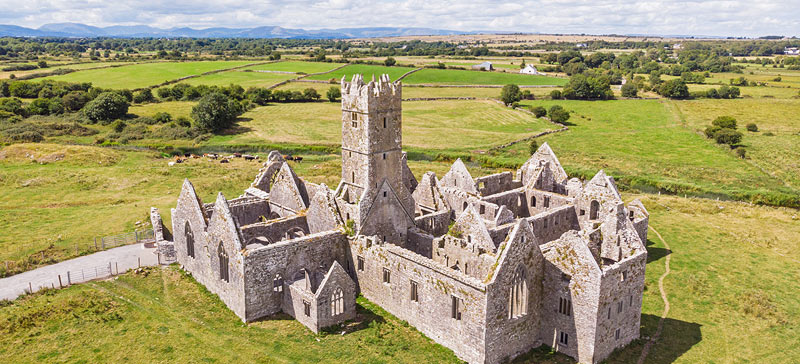Visit to Ross Errilly Friary near Headford, Co Galway